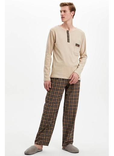 Doremi Brave Bryan Erkek Pijama Takımı Kahve